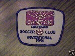 Canton Michigan Soccer Club, Invitational 1991 Patch-nal 1991 Patchafficher Le Titre D'origine
