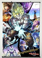 Dragon Ball Z - Super Fighting Hot Japan Anime 60*90cm Wall Scroll Poster @569