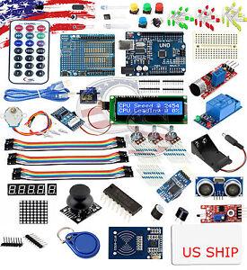 Ultimate UNO R3 Starter Kit SK#1 for Arduino Stepper Servo Motor Relay RTC | eBay