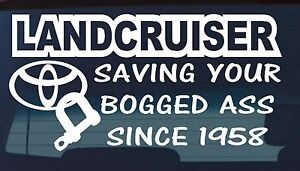 LANDCRUISER-series-100-200-60-80-4x4-funny-Decal-4WD