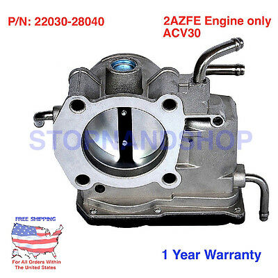 NEW COMPLETE THROTTLE BODY ASSEMBLY **FITS 2002-2005 TOYOTA CAMRY 2.4L 2AZFE