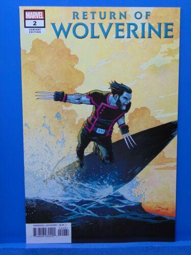 Return of Wolverine  #2 Variant Edition Marvel Comics CB9944