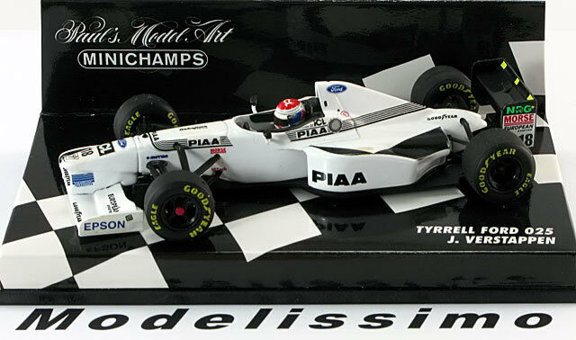 1 43 Minichamps Tyrrell Ford 025 VERSTAPPEN 1997