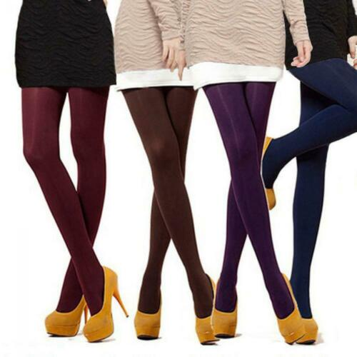 Women Girls Autumn Footed Thick Socks Stockings Opaque Pantyhose Tights