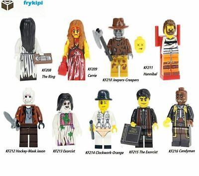 100% Vero Bloques Lego Terror Elige El Modelo De Terror Tv Cine Minifiguras Hallowen Così Efficacemente Come Una Fata