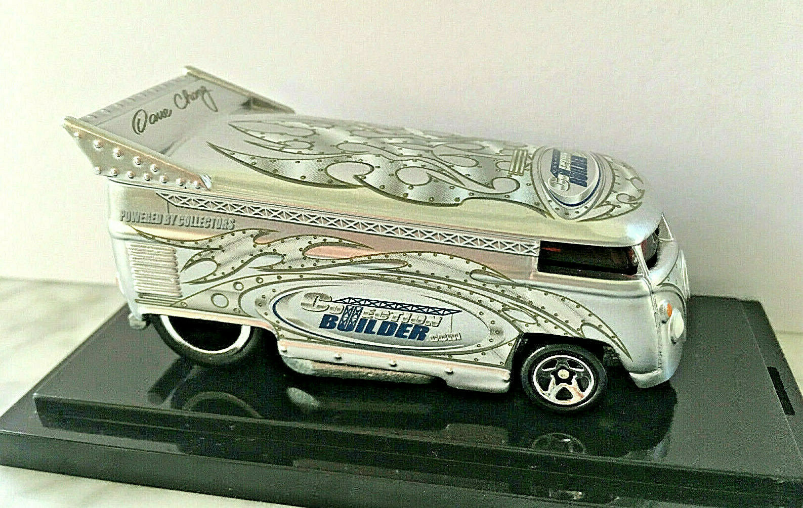 Raro Liberty Rebel ejecutar Vw Drag Bus Dave Chang Colección Builder  250