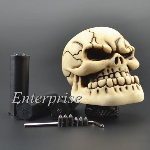 Skull Head Universal Car Truck Custom Manual Stick Gear Shift Knob Lever Shifter