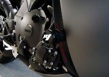 2009-14  R1  NO-CUT 3D Frame Sliders GLOSS BLACK Yamaha 14 13 12 11 10 09