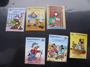 Antigua und Barbuda Donald und Micky Maus kompletter ** Satz - Boppard, Deutschland - Antigua und Barbuda Donald und Micky Maus kompletter ** Satz - Boppard, Deutschland