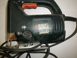 Black decker jigsaw ks631 450w ebay image is loading black amp decker jigsaw ks631 450w greentooth Gallery