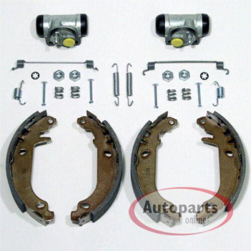 Bremsen Bremsbacken Zubehör Satz für Trommelbremse  Kit hinten Renault Twingo