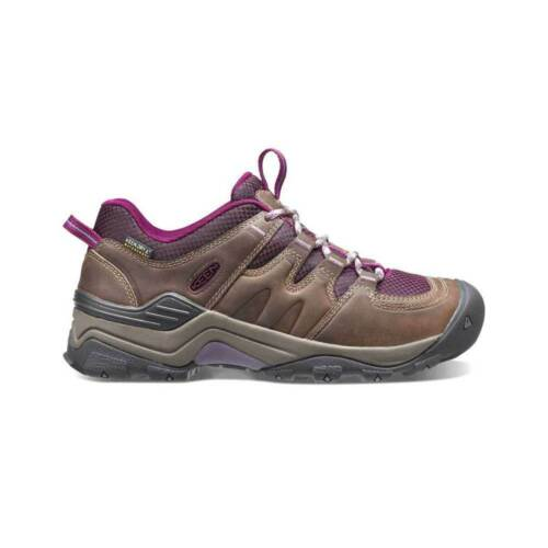 Keen Gypsum II Waterproof Women's Hiking Shoe BrindleDark Purple