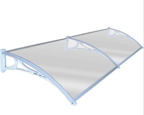 MULTITAGLIA finestra porta SUN Canopy foglio Tenda da sole POLICARBONATO UV di protezione contro la pioggia