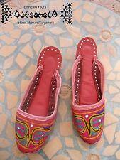 Ethno Nomad Tribal Schuhe slipper chaussures cuir Leder inde hippie goa 35 36,5