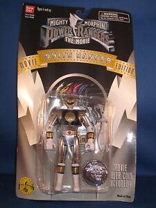 1995 Power Rangers Le Film Édition Blanc Ranger