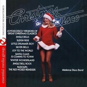 Mistletoe-Disco-Band-Christmas-Disco-New-CD-Manufactured-On-Demand