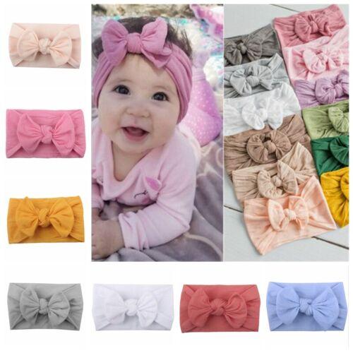 Baby Newborn Toddler Kids Girls Flower Headband Hair Band Chic Hair Accessories