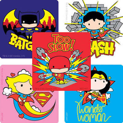 Favours Birthday Supplies Justice League Superman Stickers x 18 30 /& 36 24