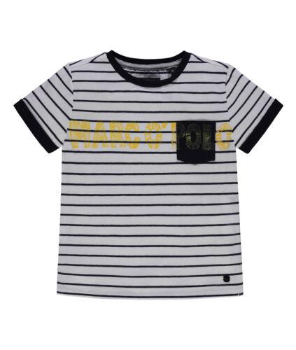 Marc O/'Polo T-Shirt gestreift mit Logo Jungen Kinder NEU