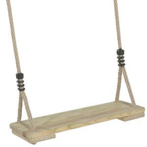 Schaukel-Schaukelsitz-aus-Holz-verstellbare-Seile
