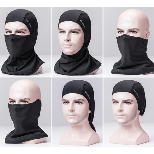 RockBros Ice Fabric Anti-UV Breathable Sunshade Cycling Face Cap Wholesale