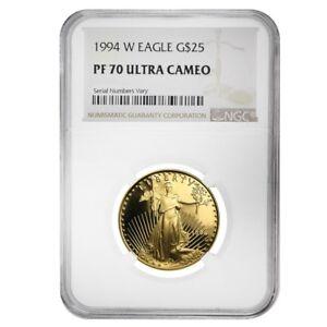 1994-W-1-2-oz-25-Proof-Gold-American-Eagle-NGC-PF-70-UCAM