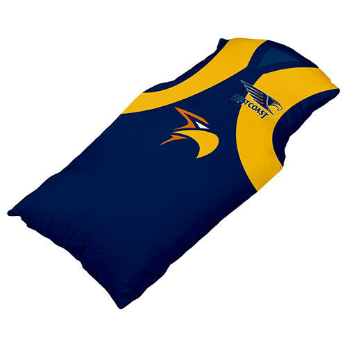 North Melbourne Kangaroos AFL JERSEY Guernsey Cushion Pillow Teddy Girls Boys