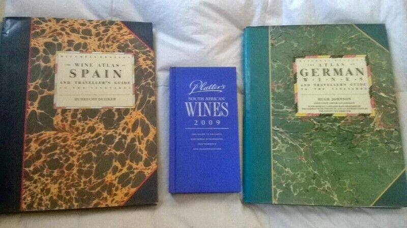 WINE BOOKS. SPANISH & GERMAN WINE ATLASES. Large, Coffee Table wine guides. Up your knowledge.