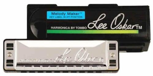 Lee Oskar Melody Maker Harmonica With Case 14 Keys Available