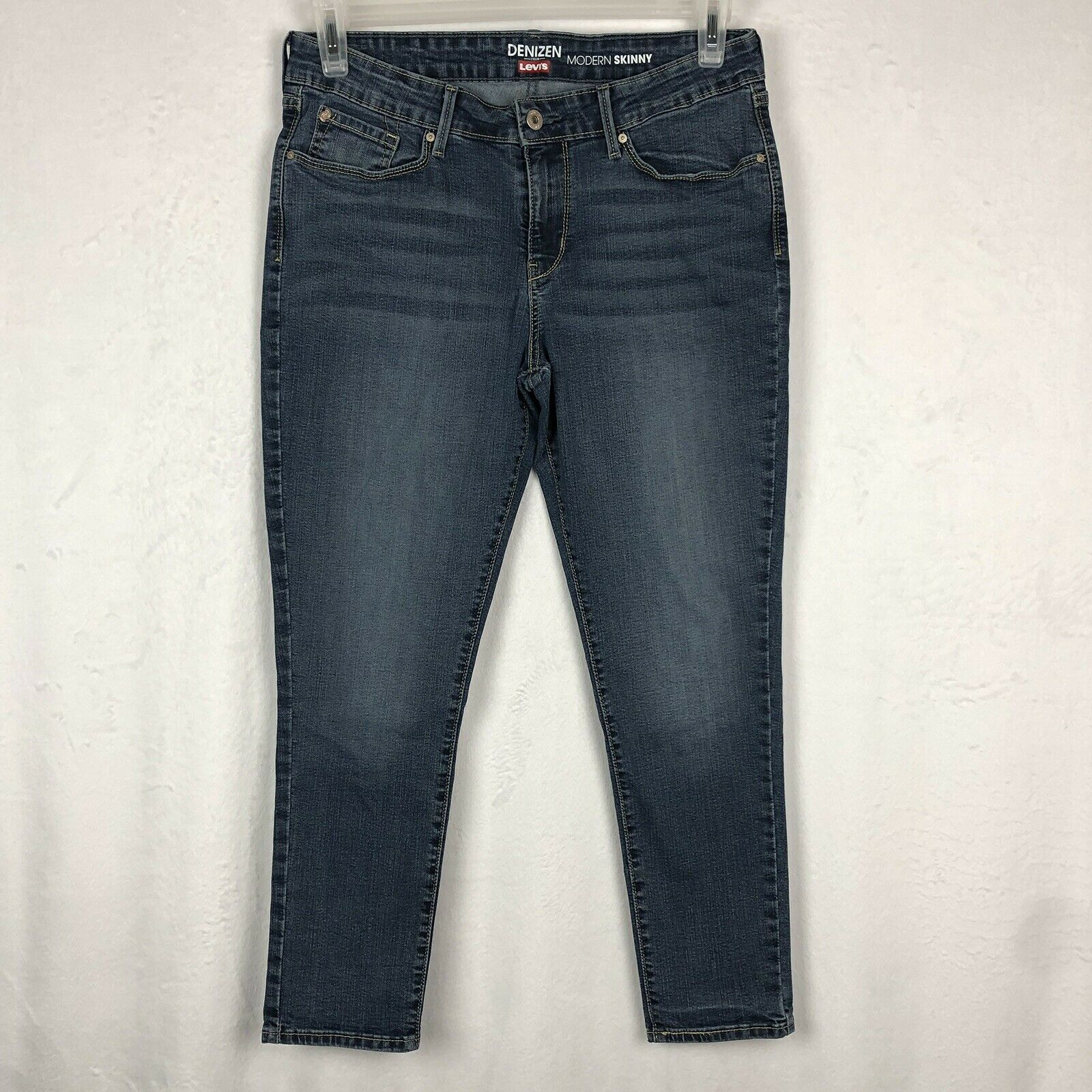 ce112f6d Denizen by Levi's Modern SKINNY Size 12 Short Blue Jeans for sale ...