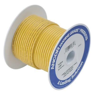 """wire Lot of 50 Ancor Marine Grade Yellow 1//2/"""" Ring End Terminals for 12-10 ga"""