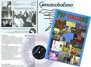 libro-POP-ITALIANO-CD-Genarcobaleno-7-039-Ep-CD-ediz-limitata-PROG-psych-beat