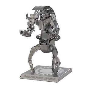 Destroyer-Droid-Star-Wars-3D-Metal-Kit-Silver-Edition-Metal-earth-1255