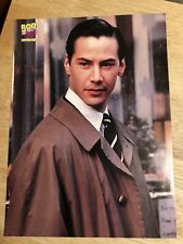 1990s Teen Magazine Pin Up Page - KEANU REEVES / BRANDY