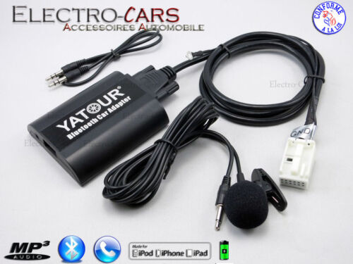 BLUETOOTH INTERFACE AUXILIAIRE MP3 AUTORADIO COMPATIBLE SKODA ROOMSTER