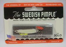 "Bay de Noc 3AG Swedish Pimple Jigging Lure 1-1//2/"" 1//5oz Hamm Gold"