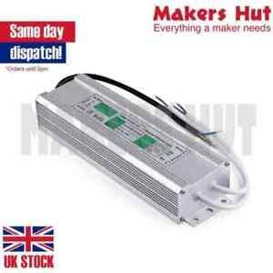 12V-24V-Waterproof-LED-Driver-Power-Supply-Transformer-PSU-IP67-10-300-W