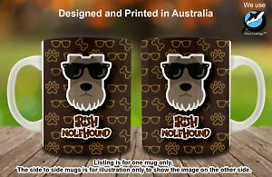 Irish Wolfhound Hipster Dog Cute Cool Creative Nice Funny Tea Coffee Mug gift
