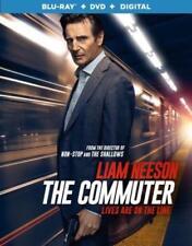 The Commuter Blu-ray DVD Digital Copy Slipcover Liam Neeson