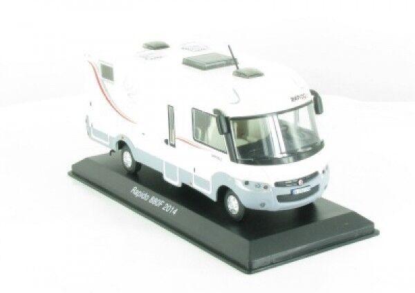 1 43 IXO Rapido 880 F 2014 camping-car camping car 15