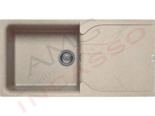 Granitek G51 Avena Lavello Elleci Ego 480 LGE48051 cm.100X50 1V+Gocc