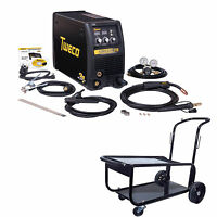 Tweco Fabricator 211i Mig, Tig & Stick Welder Pkg With Cart (w1004202)