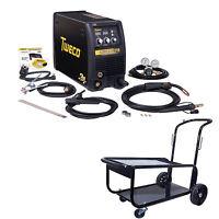 Tweco Fabricator 211i Mig, Tig & Stick Welder Pkg With Cart (w1004202) on Sale