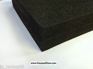 Motorcycle-Race-seat-Foam-Back-Bum-stop-pad-40mm-Thick-Self-Adhesive