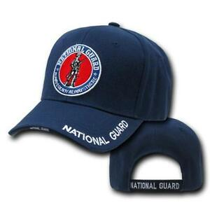 Navy-Blue-National-Guard-US-Army-Military-Patch-Baseball-Ball-Cap-Hat-Caps-Hats