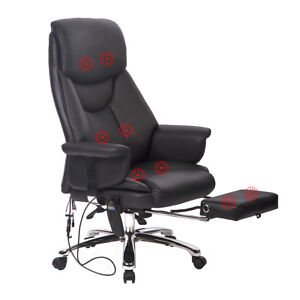 new executive office massage chair vibrating ergonomic computer desk