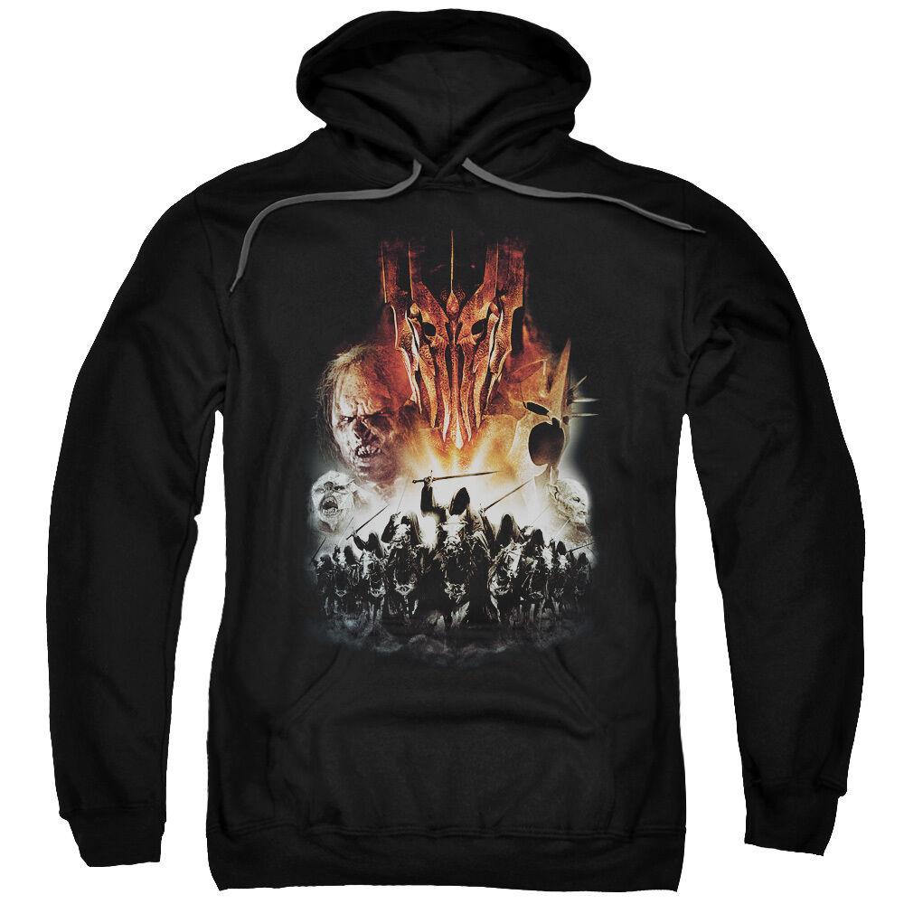 Lord of the Rings EVIL RISING Licensed Adult Sweatshirt Hoodie