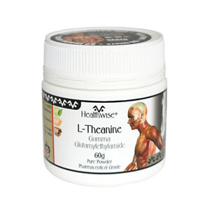 NEW Skincare HealthWise Healthwise L-Theanine Powder 60g