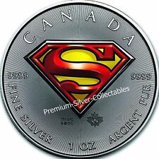 2016 Canada Superman Coin - 1 Ounce Pure Silver .9999! Iconic Coin!!