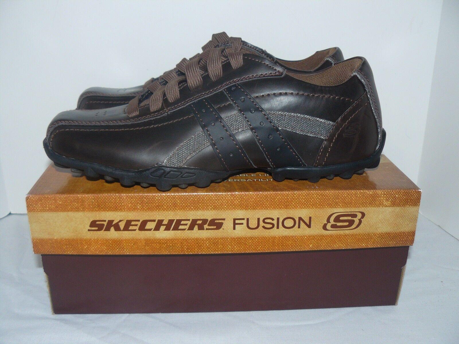 NIB Uomo Skechers Fusion Talus-Burk Casual Shoes 8, 8.5, 9.5, 10, 10.5, 11, 13